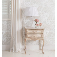 NEW! Delphine Distressed Painted Bedside Table