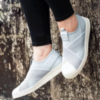 """""""ADIDAS"""" S81340 Trending Fashion Casual Sports Shoes Gray"""