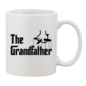 The Grandfather Funny Coffee Mug Mugs Cup Fathers day gift for Dad Joke Parents Birthday Godfather Parody Grandpa Movie Film Christmas