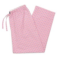 Wahoo Savannah Lounge Pant in Pink by Southern Marsh - FINAL SALE