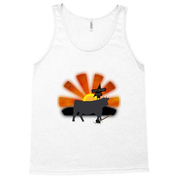 25. the cow 016 Tank Top