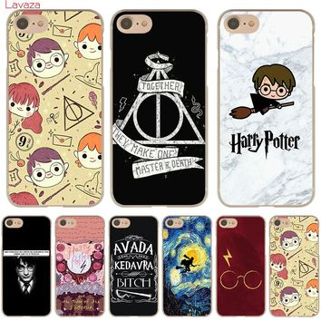 Lavaza Harry Potter Hard Phone Case for Apple iPhone X 10 8 7 6 6s Plus 5 5S SE 5C 4 4S Cover Coque Shell