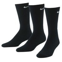 Nike 3-pk. Performance Crew Socks - Big & Tall, Size: 12-15 (Black)