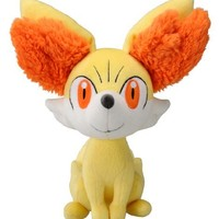 "Takaratomy New Pokemon N-03 X and Y Fennekin/Fokko 9"" Plush Doll"