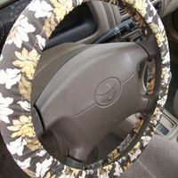 Multi Gray Steering Wheel Cover