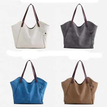 STYLEDOME tote bags women canvas bag handbags
