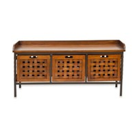 Safavieh American Home Isaac Wooden Storage Bench