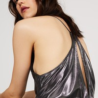 Silver Metallic Bodysuit
