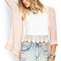 Gone Boho Crochet Cardigan