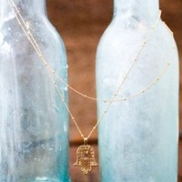 Emma Rose Designs hamsa necklace at Carolina Boutique in downtown Mill Valley.