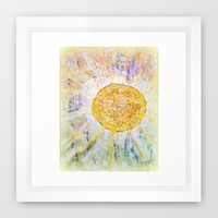 Nr. 621 Framed Art Print by Annabella Rharbaoui | Society6