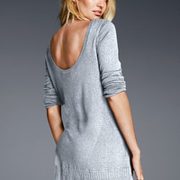 Scoop-back Tunic