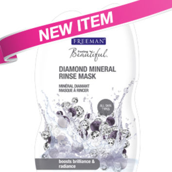 Diamond Mineral Rinse Mask :: Freeman Beauty