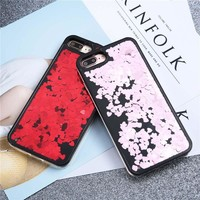 Style201 Dirt-Resistant Bling Glitter Love Heart Phone Cases For Iphone 7S 6S Plus 0905-23