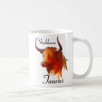 Zodiac Taurus Sign Mug