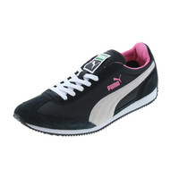 Puma Womens SF77 Suede Eco OrthoLite Running, Cross Training Shoes