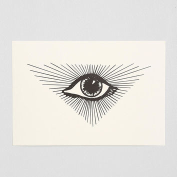 Featherweight Glint Ray Art Print - Urban Outfitters