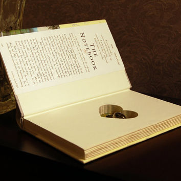 Hollow Book Safe with Heart (The Notebook)