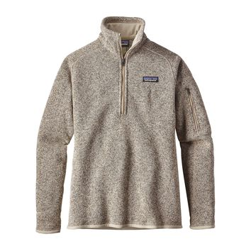 Patagonia W Better Sweater 1/4 Zip
