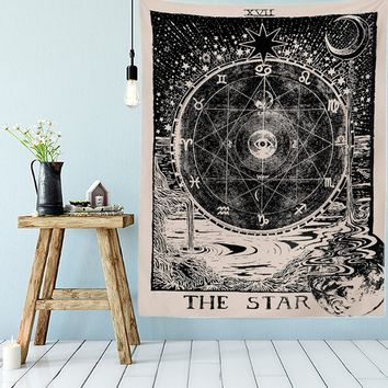 Sun, Moon, and Star Tapestry