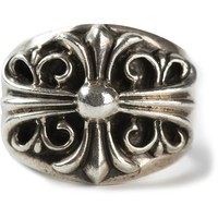 Chrome Hearts baroque engraved ring