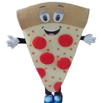 2019 Adult Pizza Mascot Pizza Shop Promotional Suit Costume Cosplay