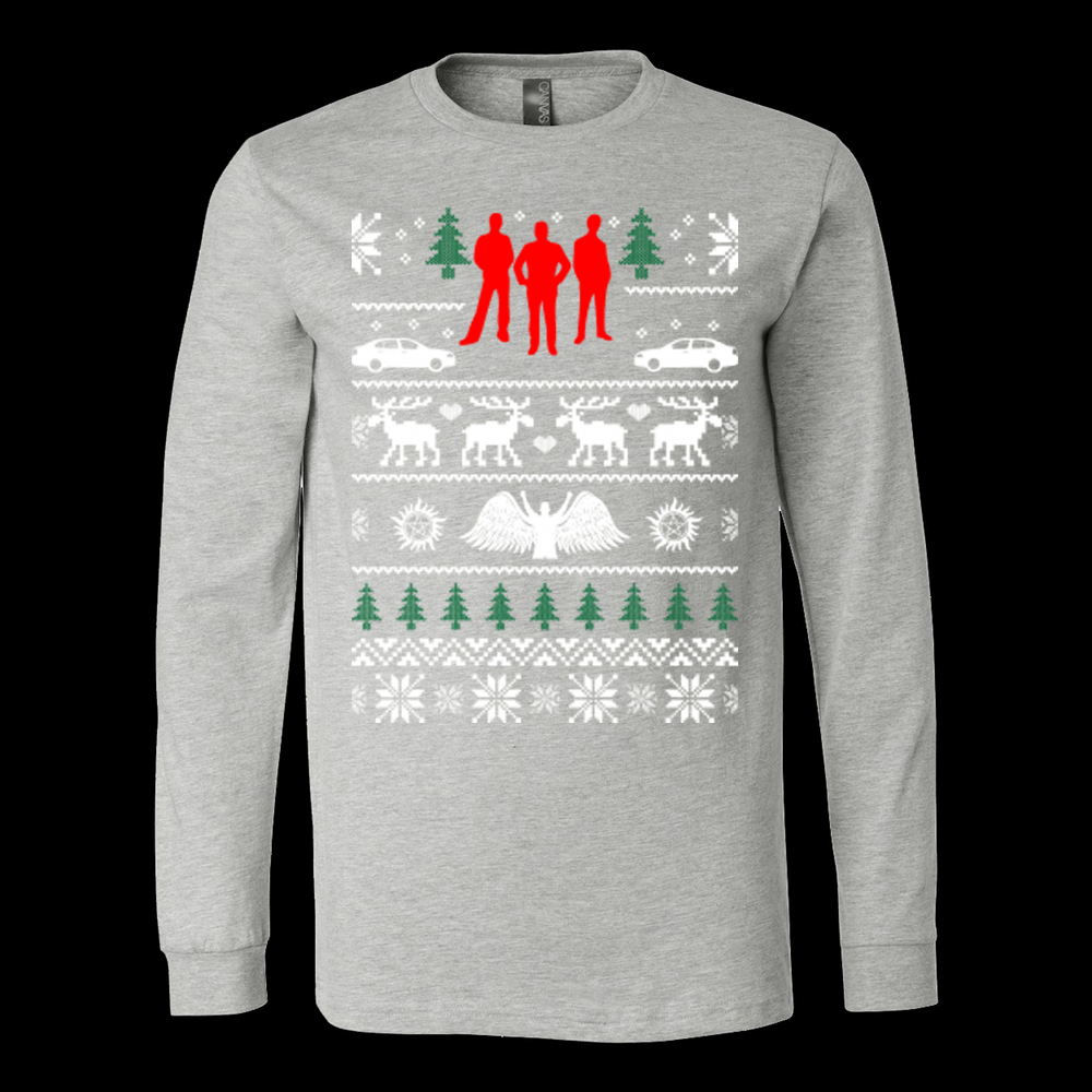 Supernatural ugly christmas sweater xmas from Vietees Shop Online