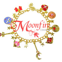 SAILOR MOON Fandom Charm Bracelet