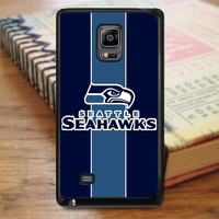 Blue Seattle Seahawks Samsung Galaxy Note Edge Case
