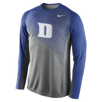 Nike Fearless Shootaround Long-Sleeve (Duke) Men's Basketball Shirt