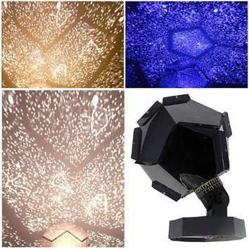 Romantic Astro Star Sky Cosmos Night Light Projector Lamp Starry Bedroom Home Decoration Lighting