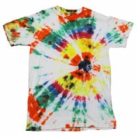 Vintage 90s Tie Dye Shirt Mens Size Small