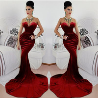 Jessica Rabbit Style Dress