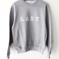 Lazy Oversized Sweater - Grey