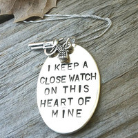 I Keep A Close Watch On This Heart Of Mine Custom by natashaaloha
