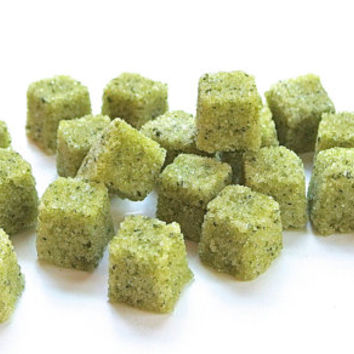 Cilantro Lime Sugar Cubes for Tea Parties, Champagne Toasts, Margaritas, Tea, Coffee, Favors, Lemonade