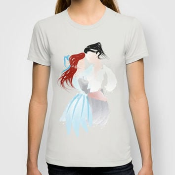 Disney - Ariel & Eric T-shirt by Jessica Slater Design & Illustration