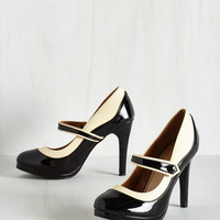 Rockabilly Classy Indeed Heel in Black