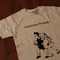 American Football (Band) Vintage Schoolchildren Screen Printed T-shirt