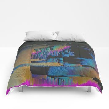Bismuth Crystal Comforters by DuckyB