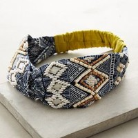 Verra Turban Band by Anthropologie in Blue Size: One Size Hair