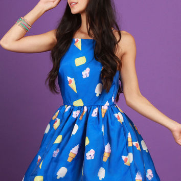 Ice Cream Cone Dress