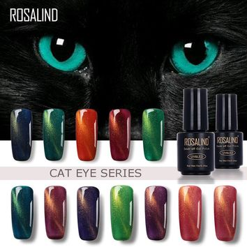 3D Cat Eyes Magnet Nail Gel Polish