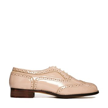 London Rebel Barnaby Brogue Lace Up Shoes