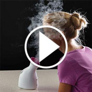 The Moisture Enhancing Facial Nanosteamer