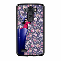 Mickey Mouse The Wizard Floral Vintage LG G3 Case