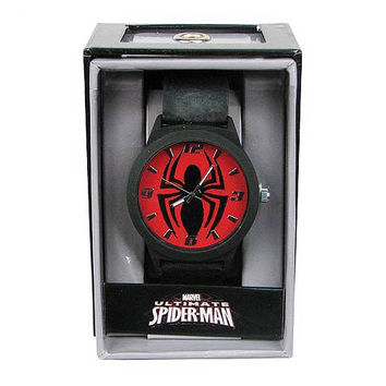 Spiderman Emblem Strap Watch