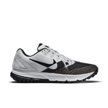 Nike Air Zoom Wildhorse 3 Dos Men's Running Shoe Size 9.5 (White)