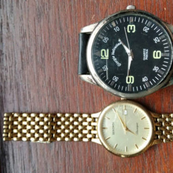 Vintage wrist watches spares repair