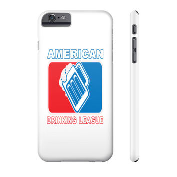 American Drinking League Cell Phone Case